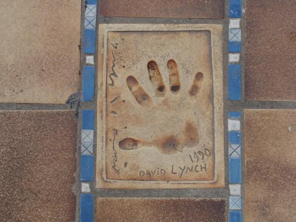 David Lynchの手形