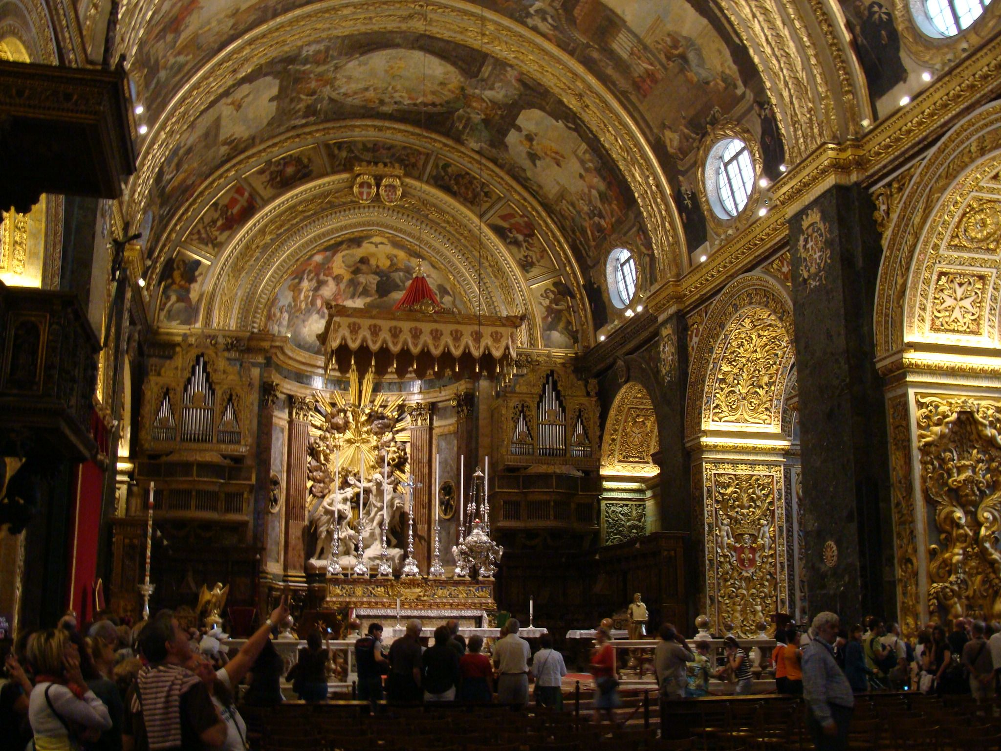 [PH] St. John's Co-Cathedral, Valletta, Malta, 20080502