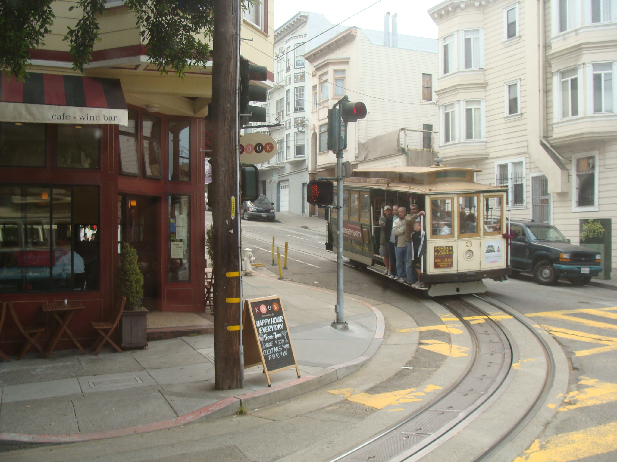 [PH] on the cable car, San Francisco, the USA, 20080627