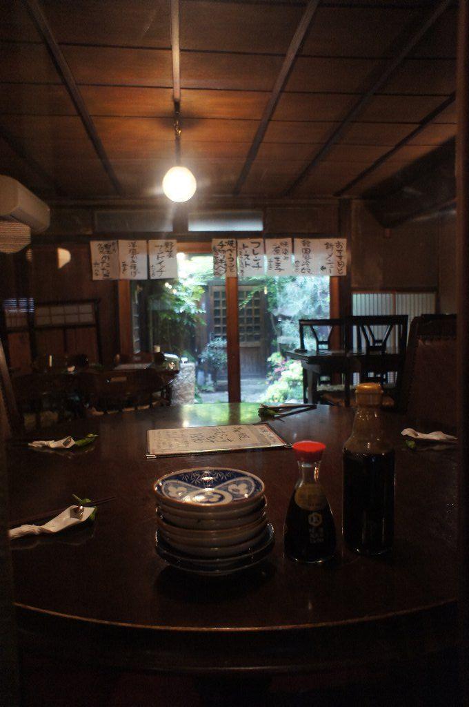 [PH] in the restaurant, 京都 (Kyoto), Japan, 20110506