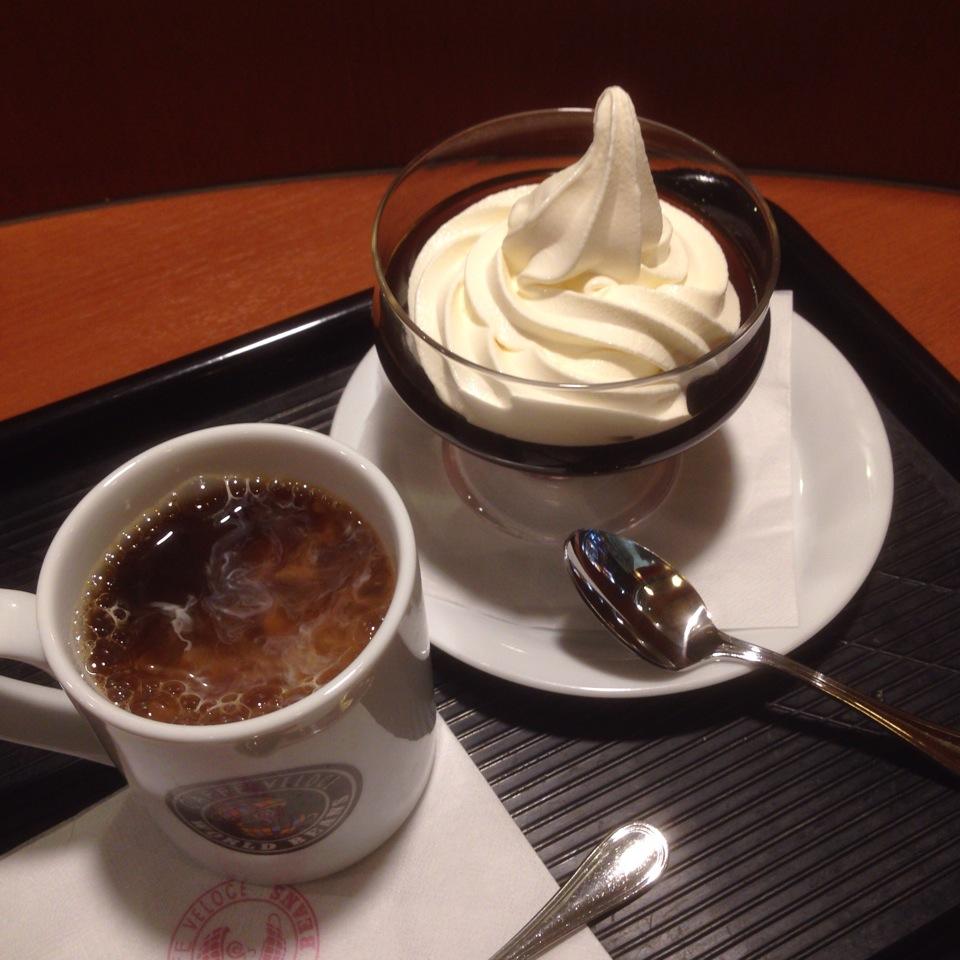 ベローチェのコーヒーゼリーは夏の食べ物