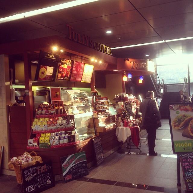 [PH] Tully's Coffee, Shimbashi (新橋), Japan, 20141205