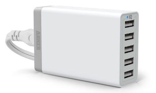 名前が長くてAnker 40W 5ポート USB急速充電器 ACアダプタ PowerIQ搭載が覚えられない