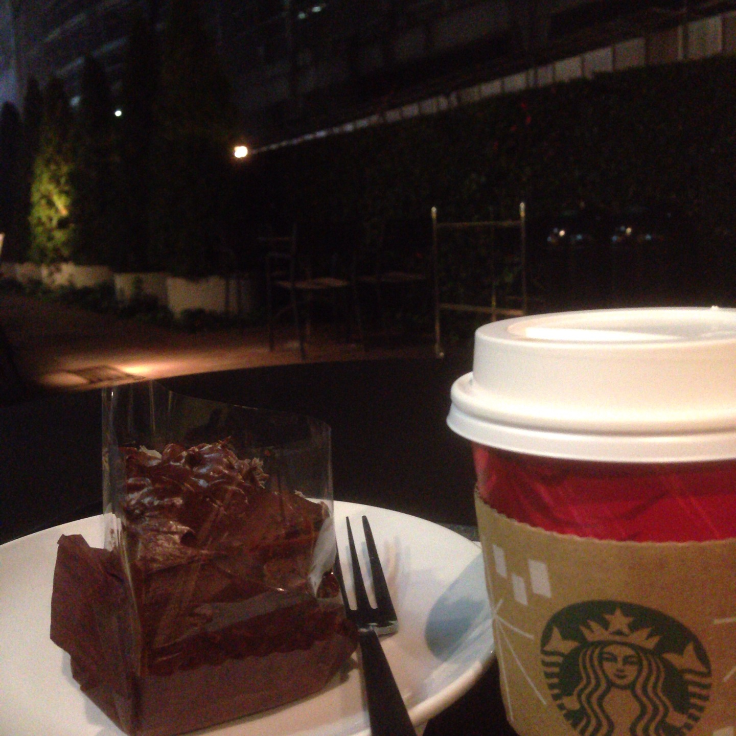 [CheckedIn] at Starbucks Coffee 新宿サザンテラス店 #foursquare