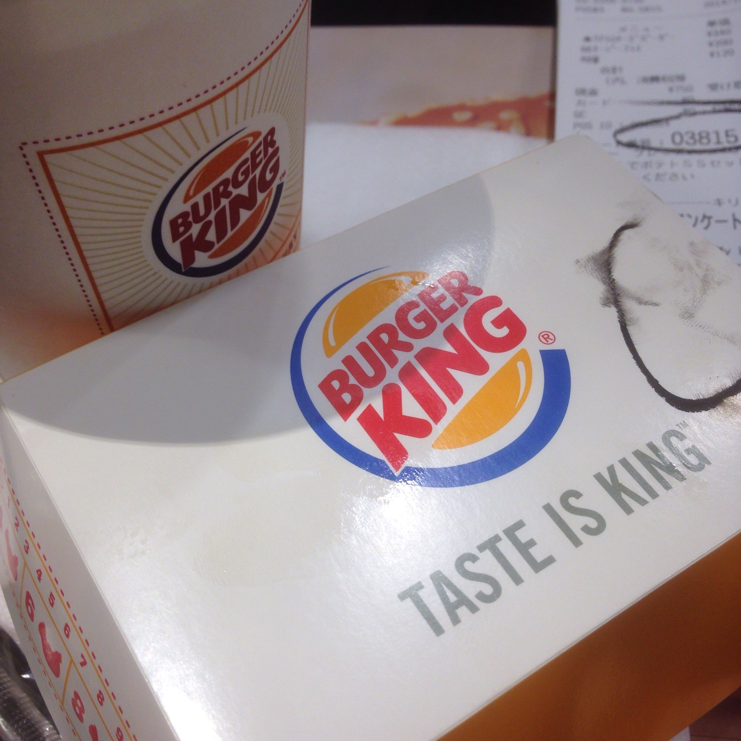 [CheckedIn] at BURGER KING 新宿靖国通り店 #foursquare