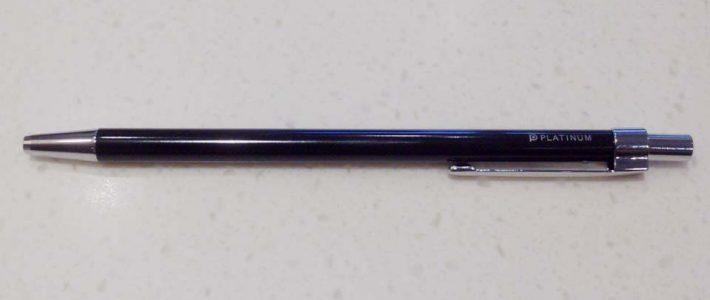 プラチナ万年筆 手帳用極細ボールペン[Bunborg]