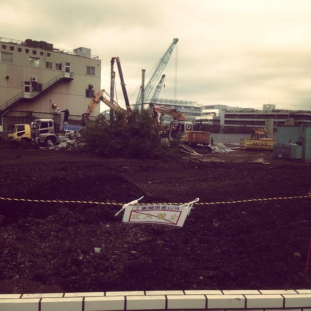 [PH]  #キクチカラー浮間工場跡地 Under construction, #Tokyo, # Japan, 20141212