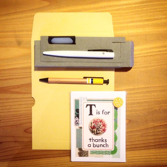 [PH] #stationary #onthetable #ballpointpen #card #envelope #thingsorganizedneatly #photooftheday #iphoneonly #instagram May 16, 2015 at 02:24PM