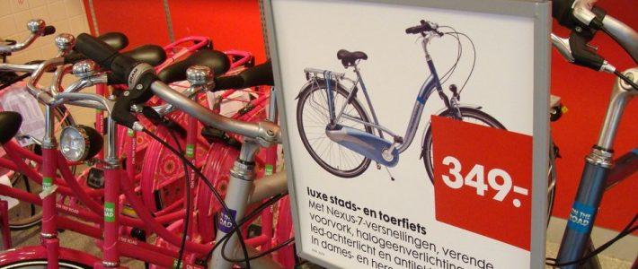 止まれ自転車