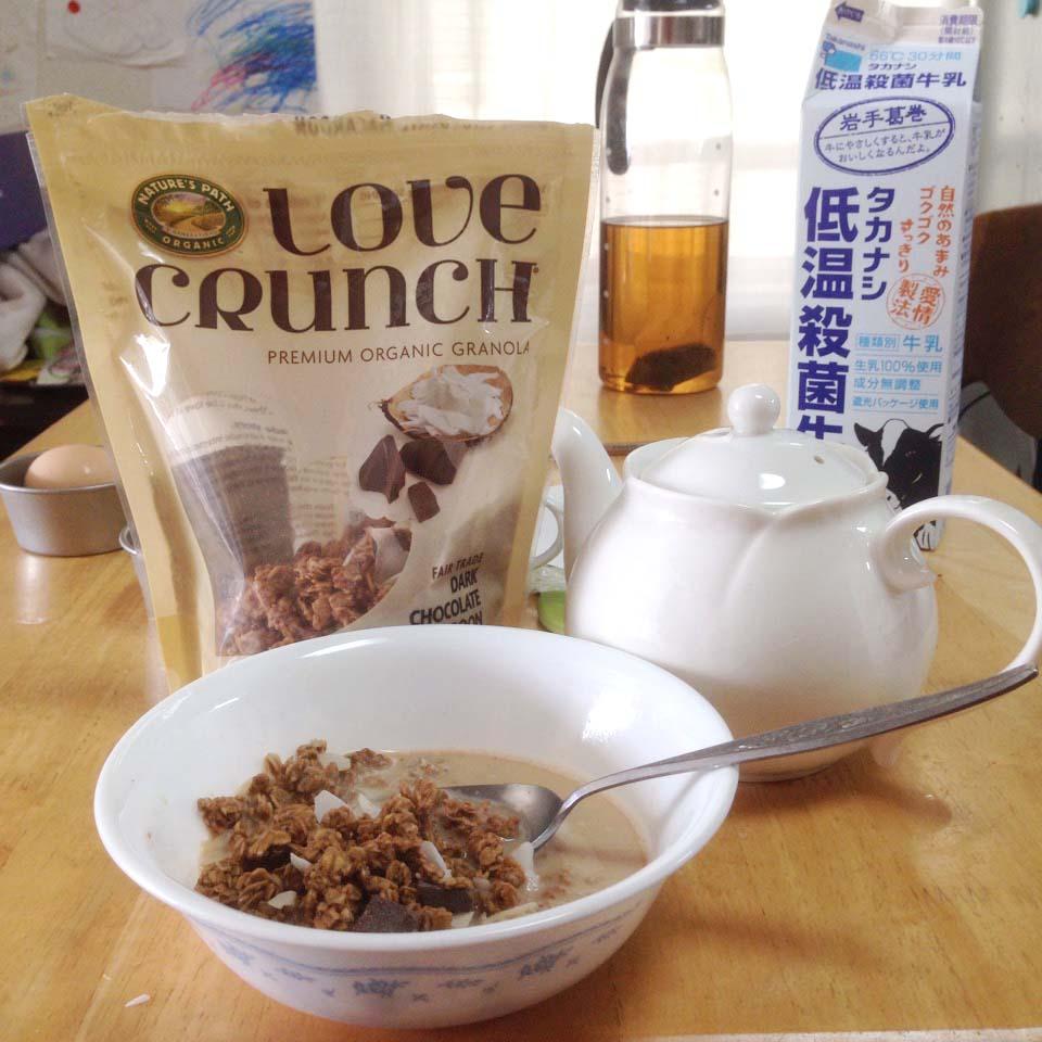 英国風ロイヤル・ミルク・ココナッツ・シリアル