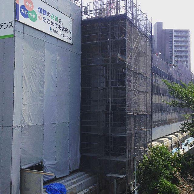 [PH] #キクチカラー浮間工場跡地 #Tokyo #Japan #follow #photooftheday #lark #instagram July 12, 2015 at 09:44AM