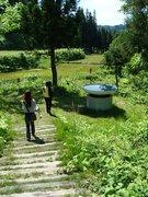 水のプール(No.160 越後妻有 大地の芸術祭2010.06)☆☆☆★