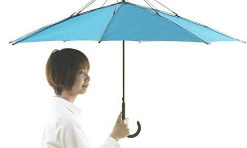 たたみたい、でも、たたみたくない、微妙な傘のお年頃