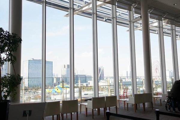 日本科学未来館 7階展望スペース