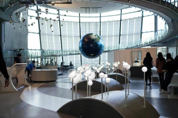 日本科学未来館 常設展示