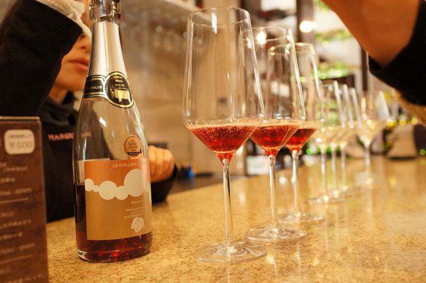 まるき酒造 ワイン試飲