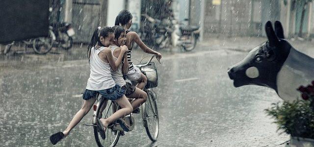 自転車で使うレインコート選び